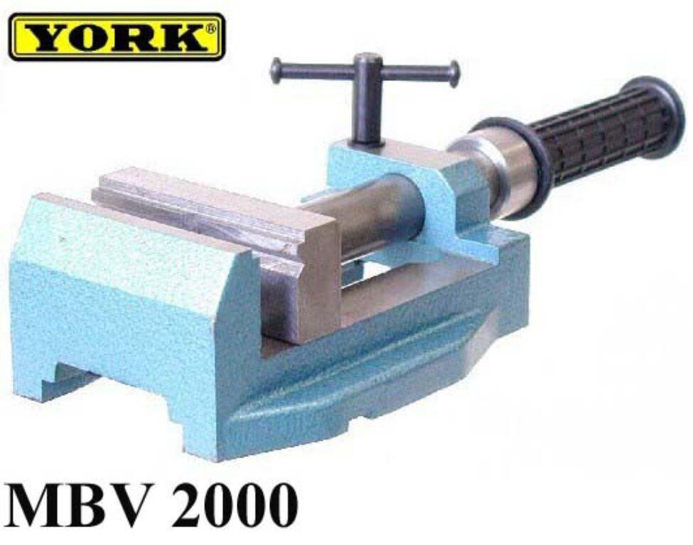 Svěrák strojní ruční 100mm MBV 2000 YORK 01.05.01.01.0.0