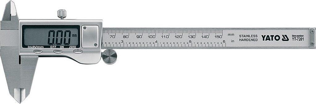 YATO YT-7201 Posuvné měřítko digitální 150mm