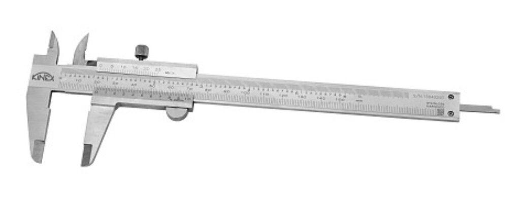 KMITEX 6000.1 Posuvné měřítko se šroubkem 150/40 0.05mm ČSN251238 DIN862