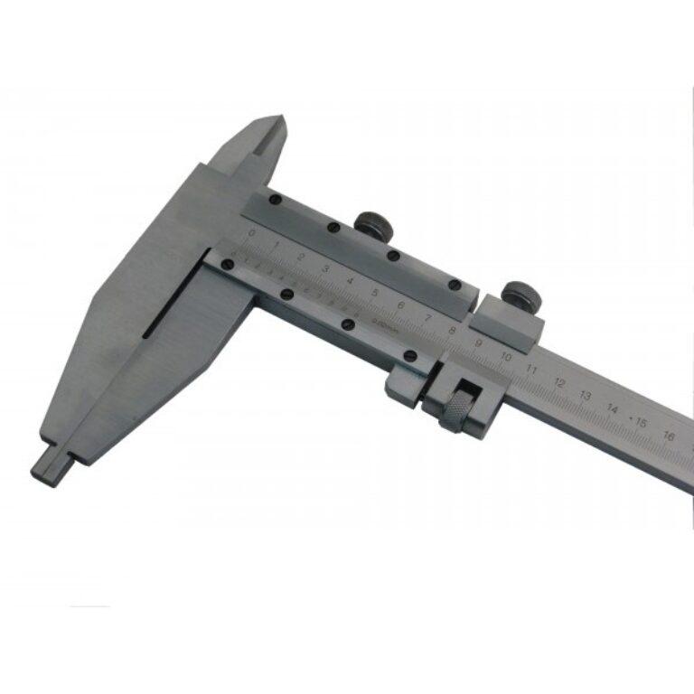 KMITEX 6022.1.125 Posuvné měřítko oboustranné 800/125 0.02mm ČSN251234 DIN86