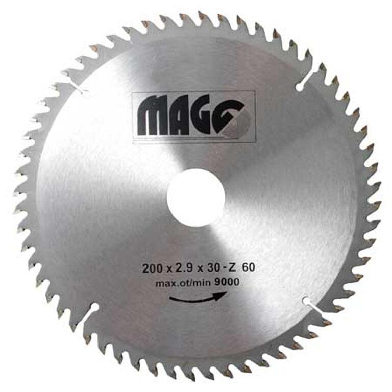 MAGG 9320060 Pilový kotouč HOBBY SK 200x2,9x30 60z