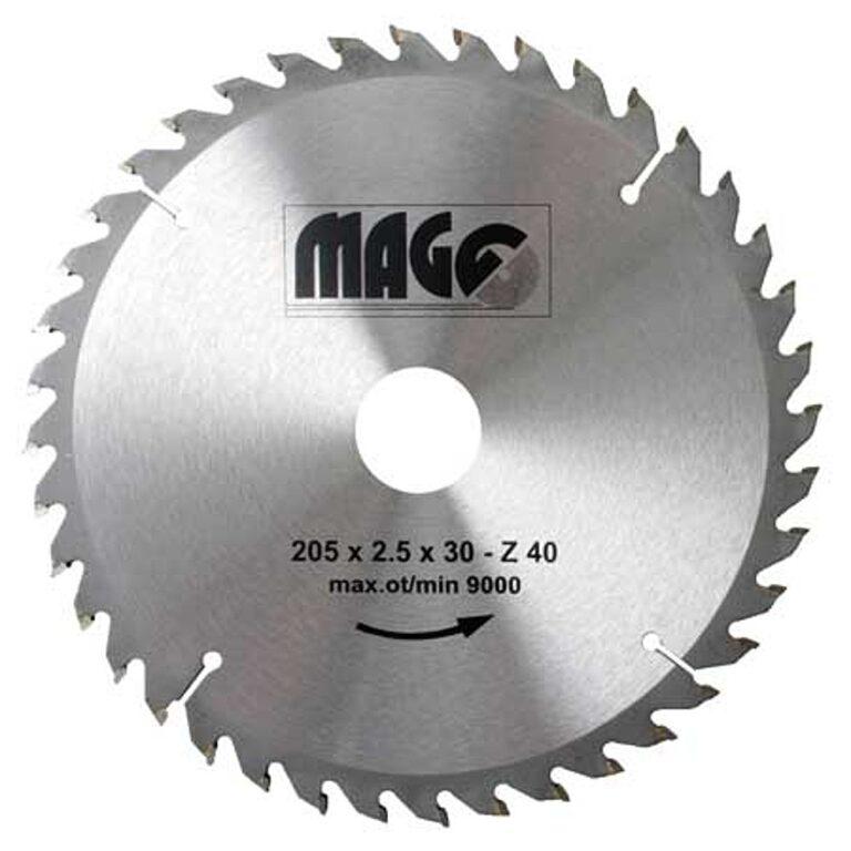 MAGG 9320540 Pilový kotouč HOBBY SK 205x2,5x30 40z