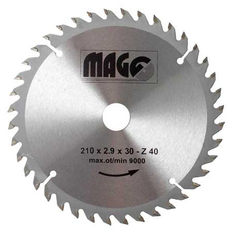 MAGG 9321040 Pilový kotouč HOBBY SK 210x2,9x30 40z
