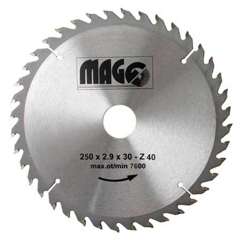 MAGG 9325040 Pilový kotouč HOBBY SK 250x2,9x30 40z