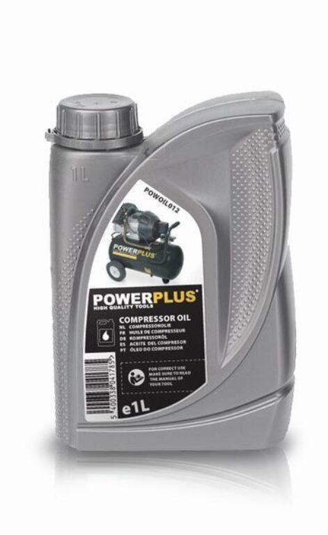 POWER PLUS POWOIL012  Olej pro kompresory 1L