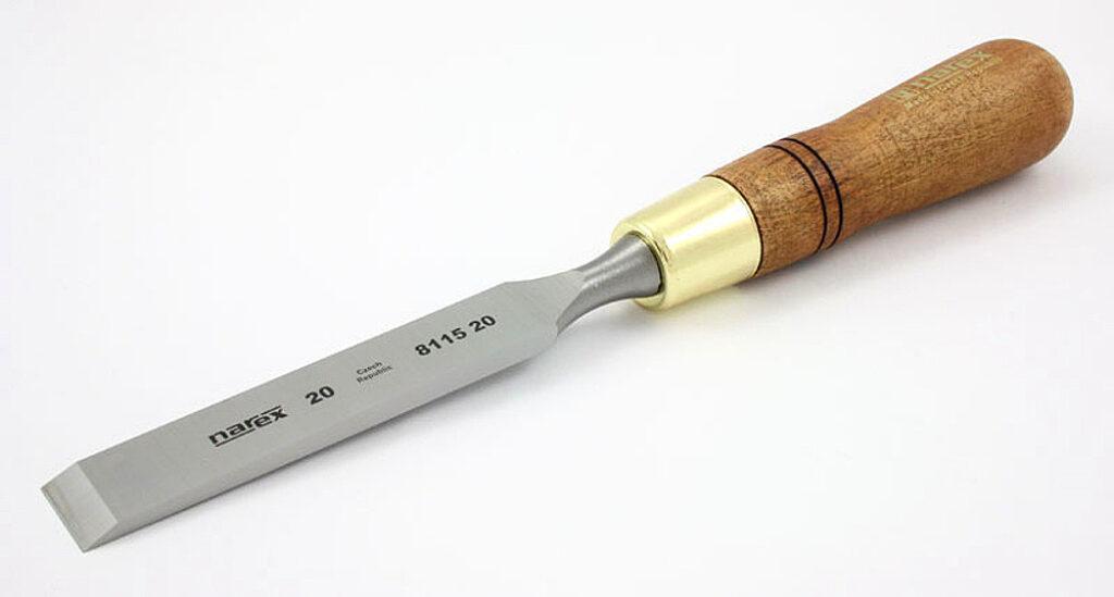 NAREX 811520 Dláto nehraněné 20mm WOOD LINE PLUS