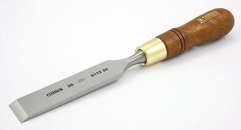 NAREX 811526 Dláto nehraněné 26mm WOOD LINE PLUS