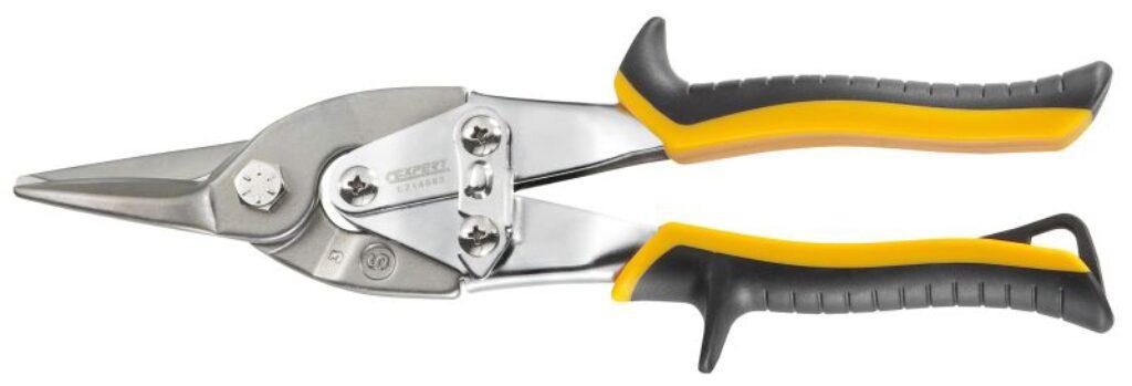 EXPERT E214563 Nůžky na plech 250mm přímé