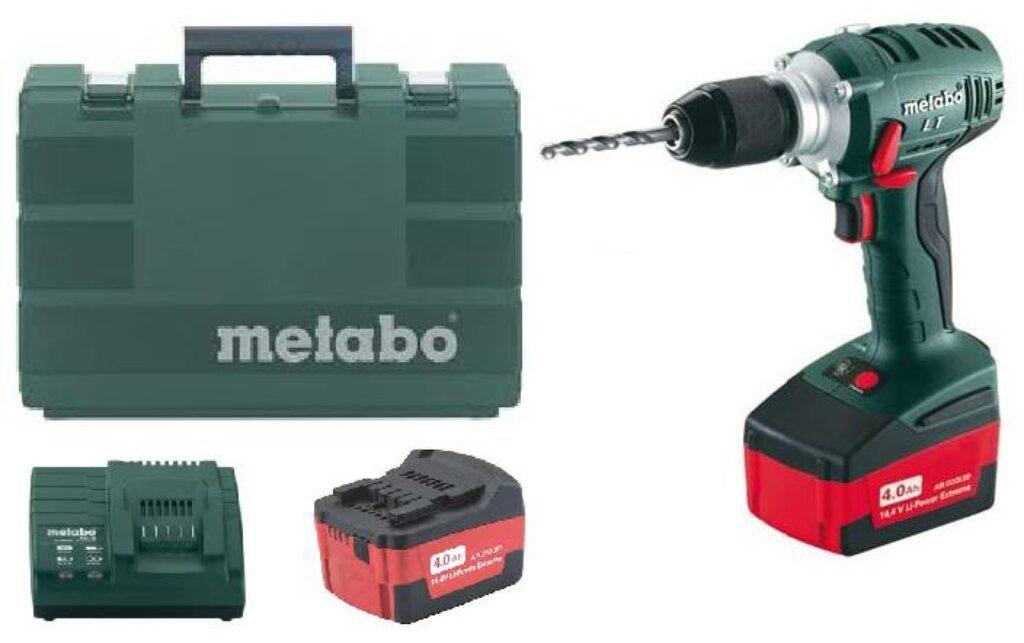 METABO 602137610 BS 14,4 LT Impuls Akušroubovák 14,4V 4,0Ah