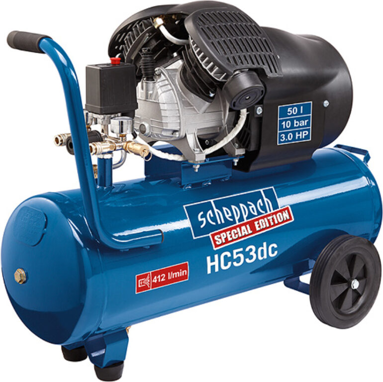 SCHEPPACH HC 53 DC Kompresor olejový 50L 2200W 412L/min 10bar