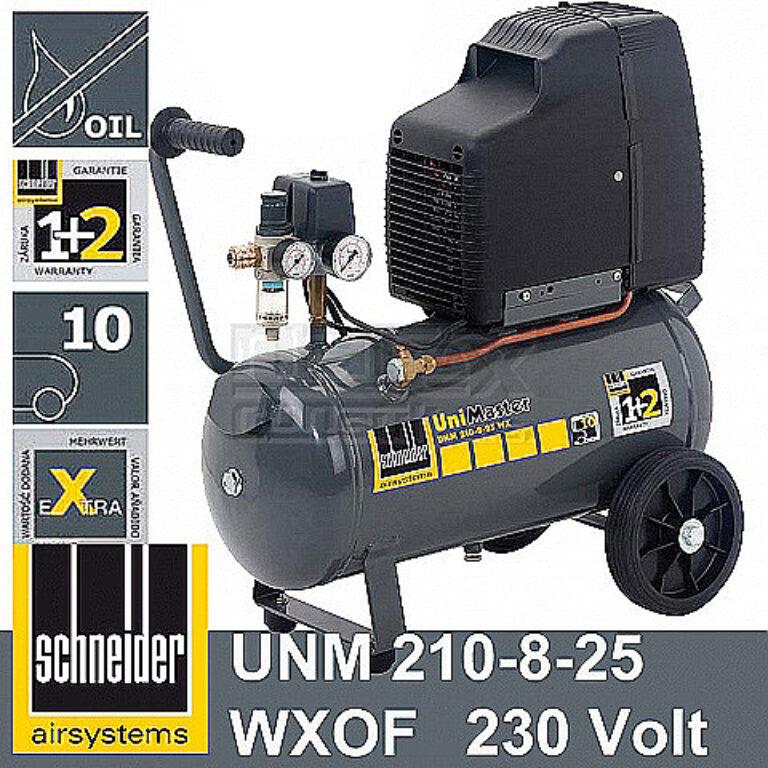 SCHNEIDER A711001 Kompresor UniMaster EXTRA 210-8-25 WXOF