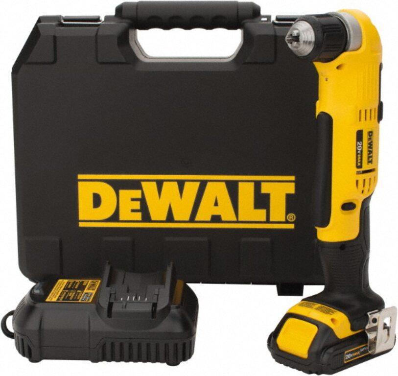 DEWALT DCD740C1-QW Aku vrtačka úhlová 18V 1,5Ah Li-ion