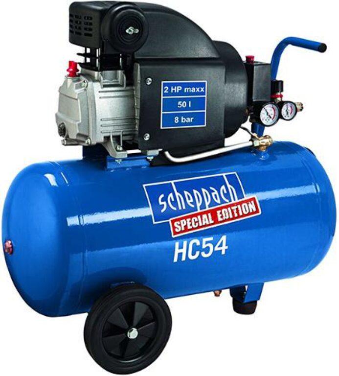 SCHEPPACH HC 54 Kompresor olejový 50L 1500W 220L/min 8bar
