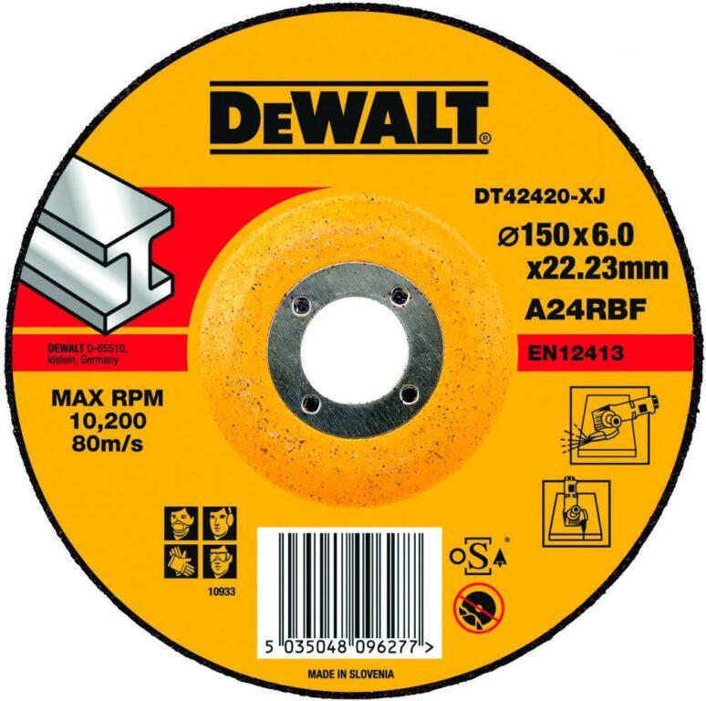 DEWALT DT42420 Kotouč brusný 150x6mm