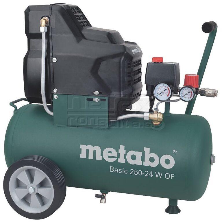 METABO 601532000 Basic 250-24 W OF Kompresor bezolejový