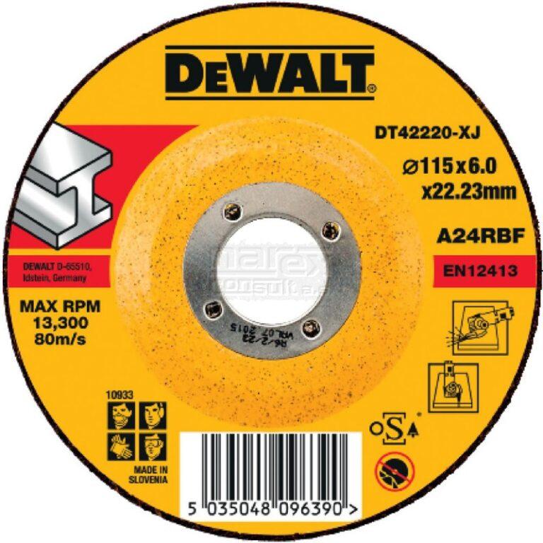 DEWALT DT42220 Kotouč brusný 115x6mm