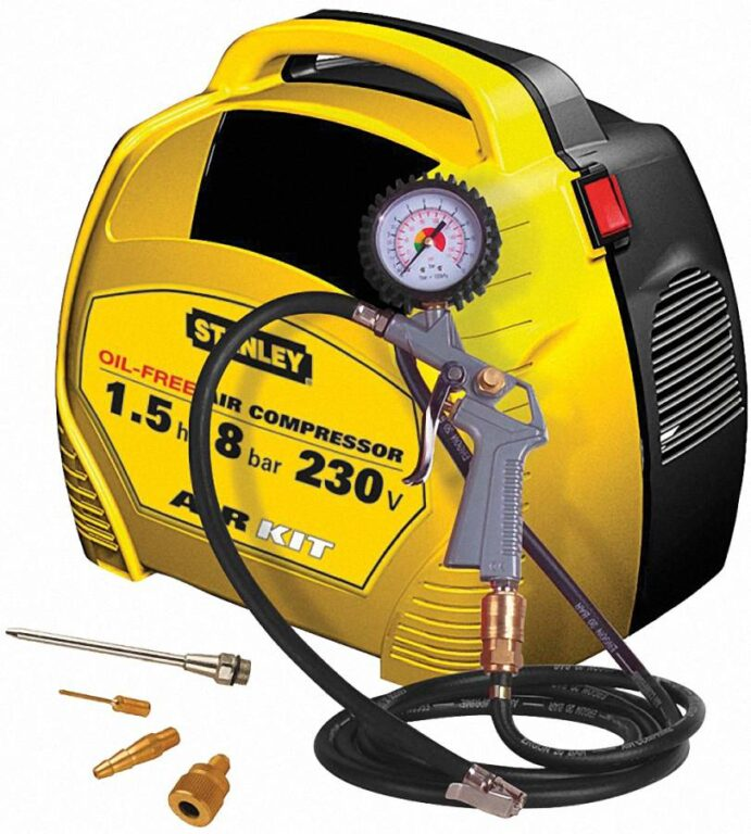 STANLEY AIR KIT Kompresor bezolejový 8215190STN595