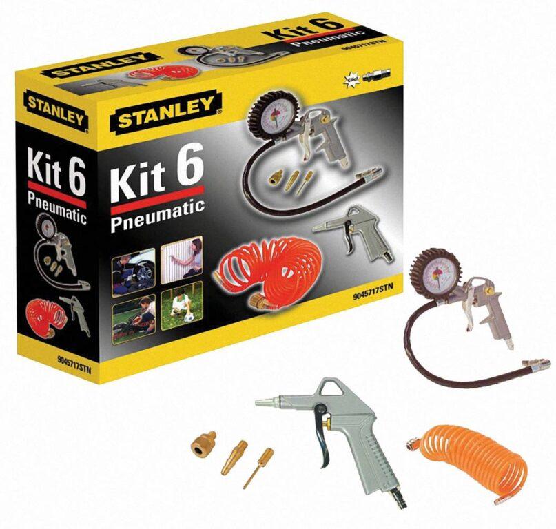 STANLEY 9045717STN Sada příslušenství ke kompresoru KIT BOX 6ks