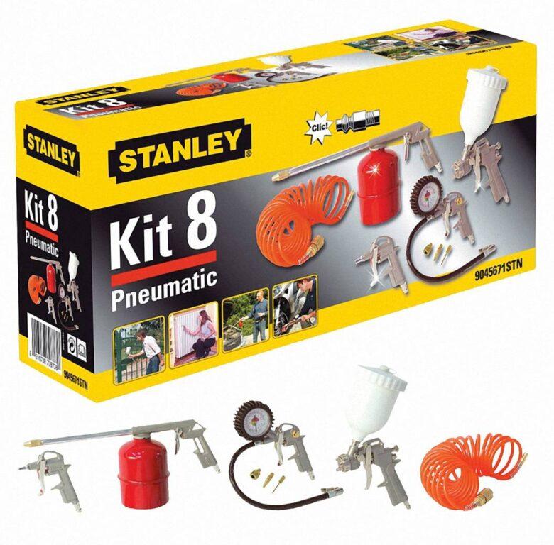 STANLEY 9045671STN Sada příslušenství ke kompresoru KIT BOX 8ks
