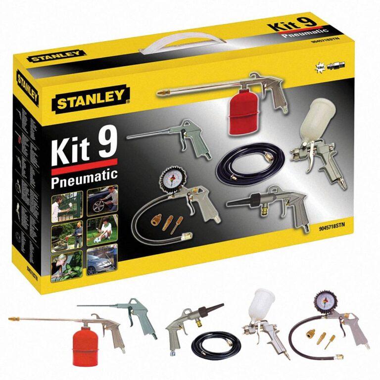 STANLEY 9045718STN Sada příslušenství ke kompresoru KIT BOX MULTI 9ks