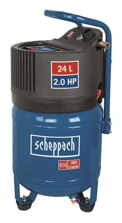 SCHEPPACH HC 24 V Kompresor bezolejový 24L 1500W 180L/min 10bar