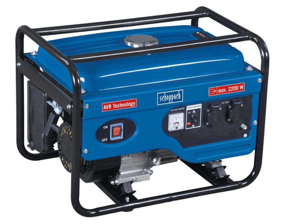 SCHEPPACH SG 2600 Elektrocentrála 2000/2200W 2x230V AVR