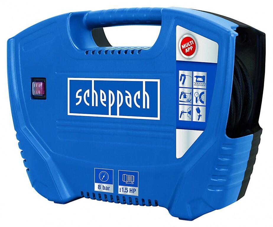SCHEPPACH AIR FORCE Kompresor bezolejový 1100W 180l/min 8bar