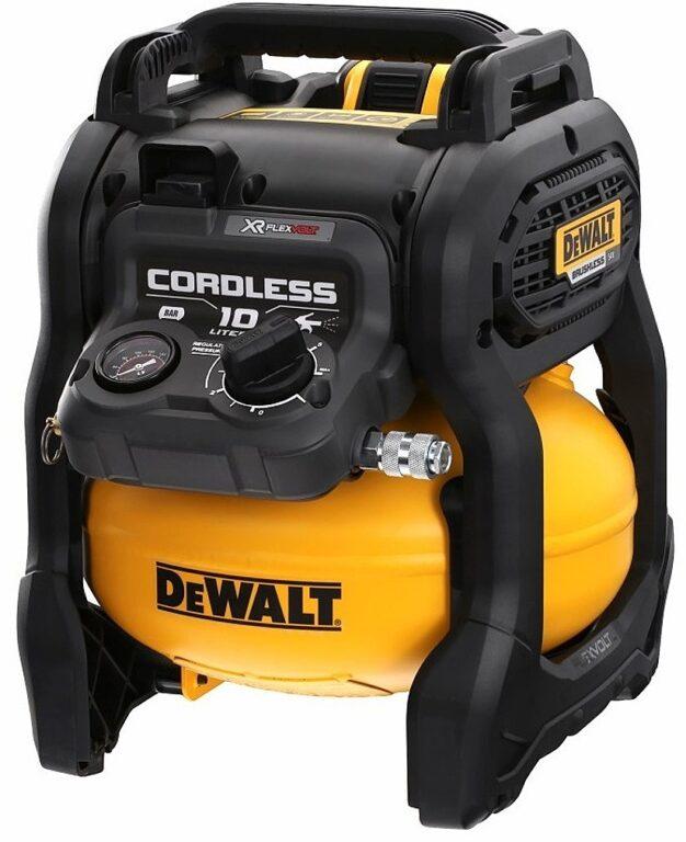 DEWALT DCC1054T2 Aku kompresor 2x 6,0/2,0Ah 10L 54V FLEXVOLT