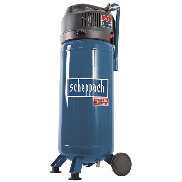 SCHEPPACH HC 51 V Kompresor bezolejový 50L 1500W 2PS 220L/min 10bar