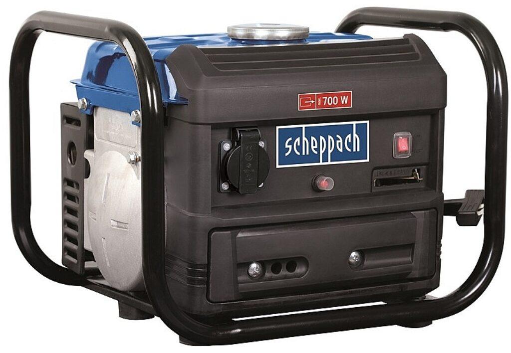 SCHEPPACH 5906218901 Elektrocentrála 700/650W 1x230V SG 1000 (1:50 benzín/olej)