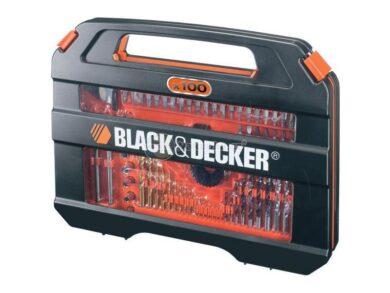 BLACK DECKER A7154 Sada vrtáků a nástavců 100dílná(7868750)