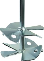 NAREX 00647511 Metla vrtulová WS2 80x350 SW8-Metla se šestihrannou stopkou pro barvy, laky, disperze, lepidla, klihy, atd..