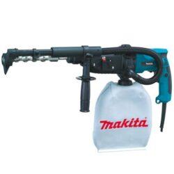 MAKITA HR2432 Kladivo kombi 2,2J 780W SDS+-Elektronické vrtací kladivo s odsáváním s příkonem 780W, Makita