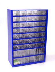 MARS 6743 Skříňka na nářadí 35M modrá-Skříňka na nářadí 35M modrá