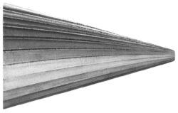 Fréza technická 104/10 ČSN229310 DOPRODEJ-Technická fréza rašplovací s vnitřním závitem HSS, 229310, 104/10