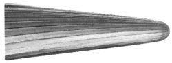 Fréza technická 105/10 ČSN229310-Technická fréza rašplovací s vnitřním závitem HSS, 229310, 105/10