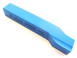 Nůž soustružnický ubírací stranový L 16X16X110 ČSN223525-Soustružnický nůž z rychlořezné oceli ubírací stranový, 223525, 16x16x110 mm