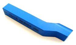 Nůž soustružnický ubírací stranový P 12X12X100 ČSN223524-Soustružnický nůž z rychlořezné oceli ubírací stranový, 223524, 12x12x100 mm