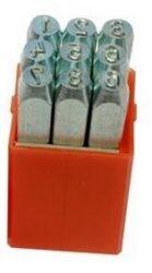 Raznice sada čísla 5mm levý ostrý profil PRAMARK 166250
