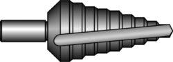 Vrták stupňovitý HSS 4-12mm 0/5 BUČOVICE 641005-Vrták stupňovitý č. 0/5 HSS 4/12-2