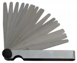 KMITEX 1130 Měrka ventilová 0.02-0.2mm 100 DIN2275 ČSN251670-Měrka ventilová DIN 2275N