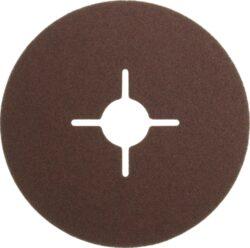 NAREX 65403801 Fíbrový brus 115mm P80 /00614075/-Fíbrový brusný kotouč 115mm na kov a dřevo, Narex