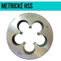 Očko závitové HSS M10x0,75 ČSN223210 BUČOVICE 240103-Závitová kruhová čelist, HSS, 6g, 223210, M10x0,75