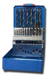 Sada vrtáků HSS 1-10mm 19-dílná STIMZET ČSN221121-Sada vrtáků, SADA, 1-10 mm, 19-DÍLNÁ /221121/