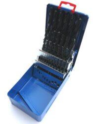 Sada vrtáků HSS 25dílná 1-13mm STIM ZET 221121-Sada vrtáků, SADA, 1-13 mm, 25-DÍLNÁ /221121/