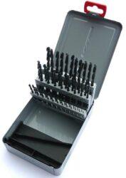 Sada vrtáků HSS 50dílná 1-5,9mm STIM ZET 221121-Sada vrtáků, SADA, 1-5,9 mm, 50-DÍLNÁ /221121/