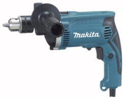 MAKITA HP1630K Vrtačka příklepová 710W sklíčidlo ZK-Příklepová vrtačka Makita HP1630K 710W v kufru