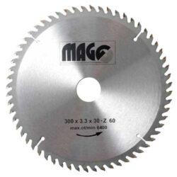 MAGG 9330060 Pilový kotouč HOBBY SK 300x3,3x30 60z-Pilový kotouč HOBBY SK 300x3,3x30 60z
