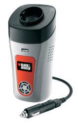 BLACK DECKER BDPC100C Invertor nízkonapěťový-Měnič napětí 12V - 240V 100W,USB