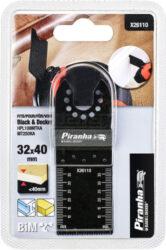 BLACK DECKER X26110-XJ Ponorný pilový list pro MT300-Ponorný pilový list na dřevo i kov